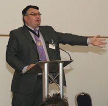 Bob Smytherman, chairman of the FPRA