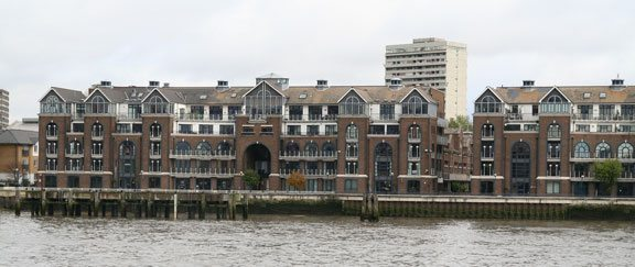 Plantation Wharf, opposite Chelsea Harbour, has seen a series of poisonous forfeiture disputes. The latest involving Dennis Jackson came close to ending in utter disaster