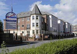Kingsley Court in Aldershot, where a £185,000 bought in January 2008 has found no takers today at £100,000