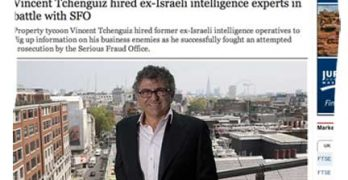 Tchenguiz falls out with his ex-Israeli intelligence operatives … and now they are suing each other