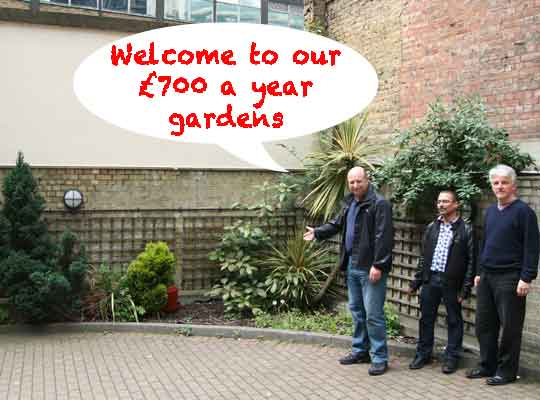 """Sterling charged £701 for """"gardening"""" at Imperial Hall"""