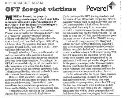 Private Eye reports Peverel price-fixing scandal