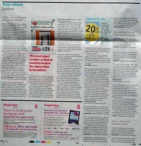 For the second week, the Saturday Guardian Money section has given wide coverage of the Peverel / Cirrus Communications price-fixing scam