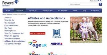 AgeUK removes its logos from the Peverel Retirement website