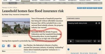 FT quotes LKP's leasehold figures in flooding report