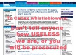 Carlex whistleblowers were THREATENED with prosecution if they went public over OFT's toothless £500k investigation into Peverel-Cirrus