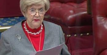 Baroness Gardner raises RTM in the Lords