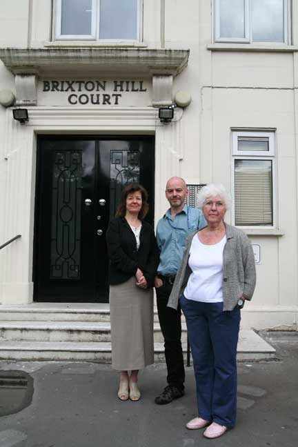 Brixton Hill Court fights on: RTM directors Dorothy Leiper, Andrew Tracey and Angela Saul want to be rid of Springquote's management and employ their own