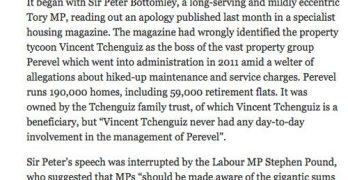 Independent reports Bottomley's questions to Tchenguiz
