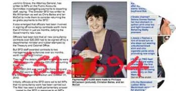 SFO scroungers: Phillippa Williamson, Christian Bailes and Richard Alderman