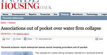 Housing associations lose £750,000 in SmartSource Water scandal