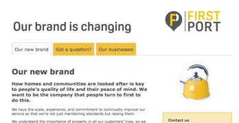 FirstPortwebsite