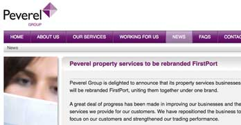 Any port in a storm as Peverel desperately rebrands to … FirstPort