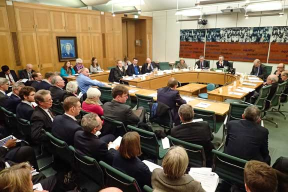 Seventy key leasehold figures attend the LKP roundtable briefing on leasehold reform at Portcullis House, Westminster yesterday
