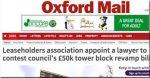 Uproar in Oxford as 50 council leaseholders face bills of £50,000 each
