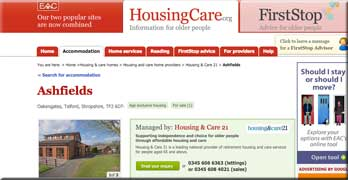 Housing and Care 21: We've made a mess at Ashfield, so manage the site yourselves