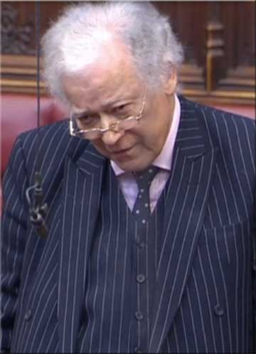 Lord Campbell-Savours, a Westminster leaseholder, said contacting 166 neighbours was 'a devil of a job'
