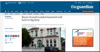 Dig out your own leasehold flat