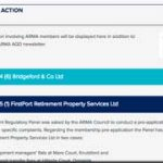ARMA rules against FirstPort Retirement …