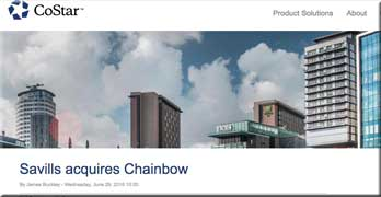 Southam sells Chainbow to Savills, so who owns the embedded management companies now?