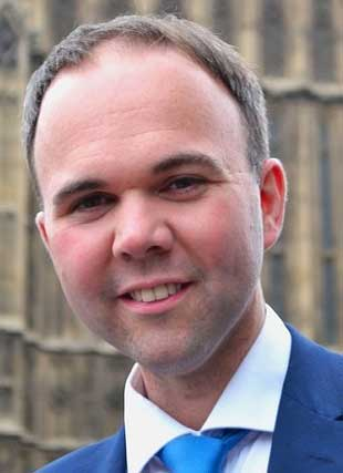 Gavin Barwell, MP for Croydon Central, is Theresa May's new hosuing minister