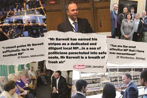 Gavin Barwell is a Conservative MP from an urban constituency, with a good campaigning record. We=ill he take seriously the nonsense of leasehold and long term menace that it represents in housing?
