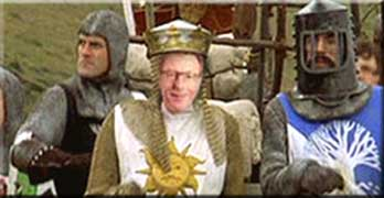 Sir Roger's quest for the Holy Grail … (or any other metaphor that helps his cosy leasehold world remain the same)