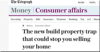 Now Daily Telegraph wades into the leasehold house racket