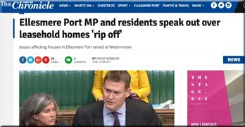 Justin Madders MP tells Chester Chronicle leasehold is 'the PPI of housing sector'