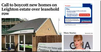Homebuyer calls for Persimmon boycott, and local MP Andrew Selous agrees with him!