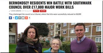 Southwark council leaseholders see major works bill slashed from £17,000 to £8,000