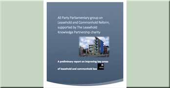 All Party Parliamentary Group: this is how to reform leasehold