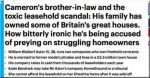 'Cameron's brother-in-law Will Astor and the toxic leasehold scandal', Daily Mail