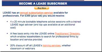 Is this LEASE being 'unapologetically on the side of leaseholders', Mr Barwell?