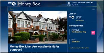 Leasehold needs to be reformed, BBC Money Box Live is told