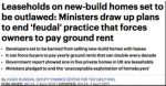 Leasehold houses to be outlawed, says the Daily Mail
