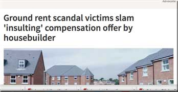 Local media takes up the leasehold housing scandal