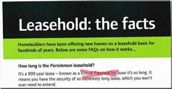 Jeffrey Fairburn, Persimmon CEO, drops 'virtual freehold' when selling leasehold
