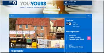 BBC R4 You and Yours now turns to Countryside's doubling ground rents
