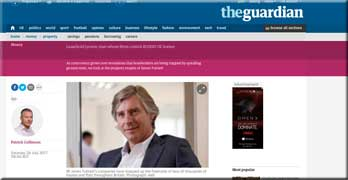 James Tuttiett's tangled web of E&J freeholds scrutinised by the Guardian
