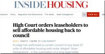 Signal Building leaseholders told to sell flats back to Southwark council