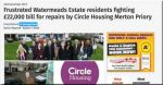 Circle Housing humiliated over £22,000 major works bills at Merton Priory knocked back to £3,500