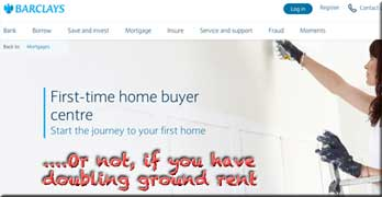 Barclays turns down mortgage on flat where ground rent doubles every 25 years