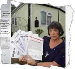 Park Home champion Sonia McColl OBE has her mobile home stolen … 'after death threats'