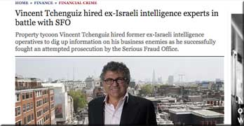 Tchenguiz's Israeli 'military intelligence' operators Black Cube 'were employed by Harvey Weinstein over sex accusations'