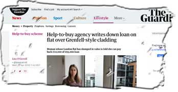 Taxpayers face £85,000 loss as Homes England accepts leaseholder can pay back loan on flat blighted by Grenfell cladding