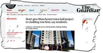 APPG hears agony of Grenfell cladding on private sites, while Lendlease sites head to tribunal to get leaseholders to pay
