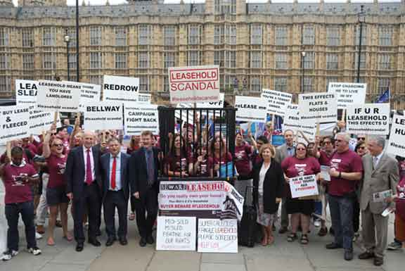 Mps Turn Out In Force To Welcome Leaseholder Demonstrators