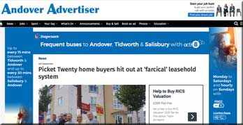 Kit Malthouse to meet Persimmon over doubling ground rent at Picket Twenty site