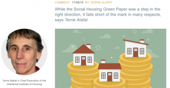 The Social Housing Green Paper – the government should do more, says ex-civil servant